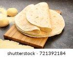 Delicious Tortillas On Kitchen...