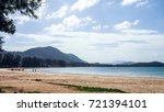 summer vacation relax on the... | Shutterstock . vector #721394101