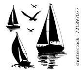 Water Sport. Sea Yachts....