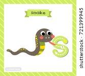 letter s lowercase cute... | Shutterstock .eps vector #721399945