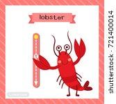 letter l lowercase cute... | Shutterstock .eps vector #721400014