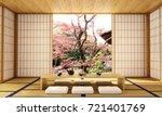 interior design modern living...   Shutterstock . vector #721401769