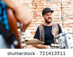 feel the beat | Shutterstock . vector #721413511