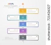 timeline infographics design... | Shutterstock .eps vector #721426327