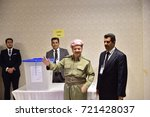 erbil iraq  september  25 ... | Shutterstock . vector #721428037
