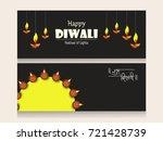 creative website header or... | Shutterstock .eps vector #721428739