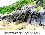 khao kalok beach pranburi  ... | Shutterstock . vector #721434211