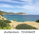 ibiza bay  spain  landscape | Shutterstock . vector #721436629