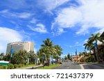 cityscape of guam   guam usa  ... | Shutterstock . vector #721437379