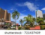 cityscape of guam   guam usa  ... | Shutterstock . vector #721437439