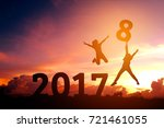 Silhouette Human Happy For 201...
