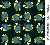 vector seamless pattern from... | Shutterstock .eps vector #721470031