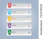 infographics design and... | Shutterstock .eps vector #721478125
