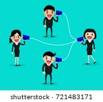 communications system for... | Shutterstock .eps vector #721483171