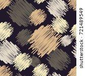 polka dot seamless pattern.... | Shutterstock .eps vector #721489549