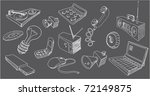 sketches of technic   Shutterstock .eps vector #72149875