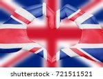 United Kingdom Flag Painted On...