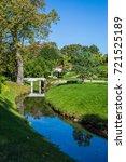 bridge in park | Shutterstock . vector #721525189