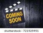 coming soon  | Shutterstock . vector #721525951