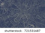 vector map of the city of...   Shutterstock .eps vector #721531687