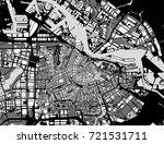 vector map of the city of... | Shutterstock .eps vector #721531711