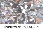 realistic diamond with caustic... | Shutterstock . vector #721533019