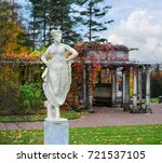 autumn in the catherine park of ... | Shutterstock . vector #721537105