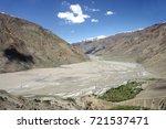 beautiful remote tajik national ... | Shutterstock . vector #721537471