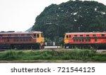 train waiting park train | Shutterstock . vector #721544125