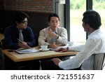 asian bussinessman are... | Shutterstock . vector #721551637