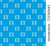 traffic barrier pattern repeat... | Shutterstock .eps vector #721560661