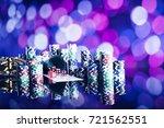 casino concept. | Shutterstock . vector #721562551