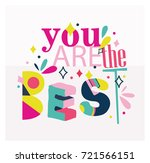 motivational colorful and...   Shutterstock .eps vector #721566151