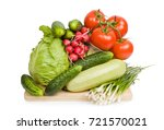 concept of cooking.  colorful... | Shutterstock . vector #721570021