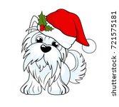 cartoon character yorkshire... | Shutterstock .eps vector #721575181