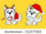cartoon character yorkshire... | Shutterstock .eps vector #721577005