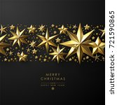 christmas background with... | Shutterstock .eps vector #721590865