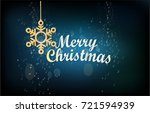 poster with a dark background ... | Shutterstock .eps vector #721594939