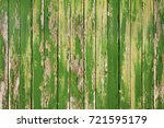 aged worn cracked painted in... | Shutterstock . vector #721595179