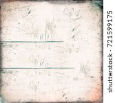 grunge background texture green ... | Shutterstock . vector #721599175