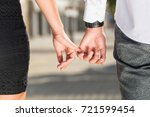 close up photo of young couple... | Shutterstock . vector #721599454