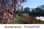 april 2014  photo of flowers in ... | Shutterstock . vector #721610725