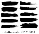 vector collection of artistic... | Shutterstock .eps vector #721610854