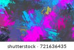 brushed painted abstract... | Shutterstock . vector #721636435