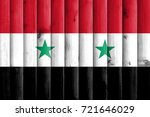 flag of syria | Shutterstock . vector #721646029