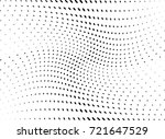 abstract halftone wave dotted... | Shutterstock .eps vector #721647529