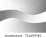 abstract halftone wave dotted... | Shutterstock .eps vector #721659781