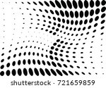 abstract halftone wave dotted... | Shutterstock .eps vector #721659859