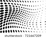 abstract halftone wave dotted... | Shutterstock .eps vector #721667209