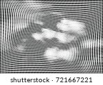 abstract halftone wave dotted... | Shutterstock .eps vector #721667221
